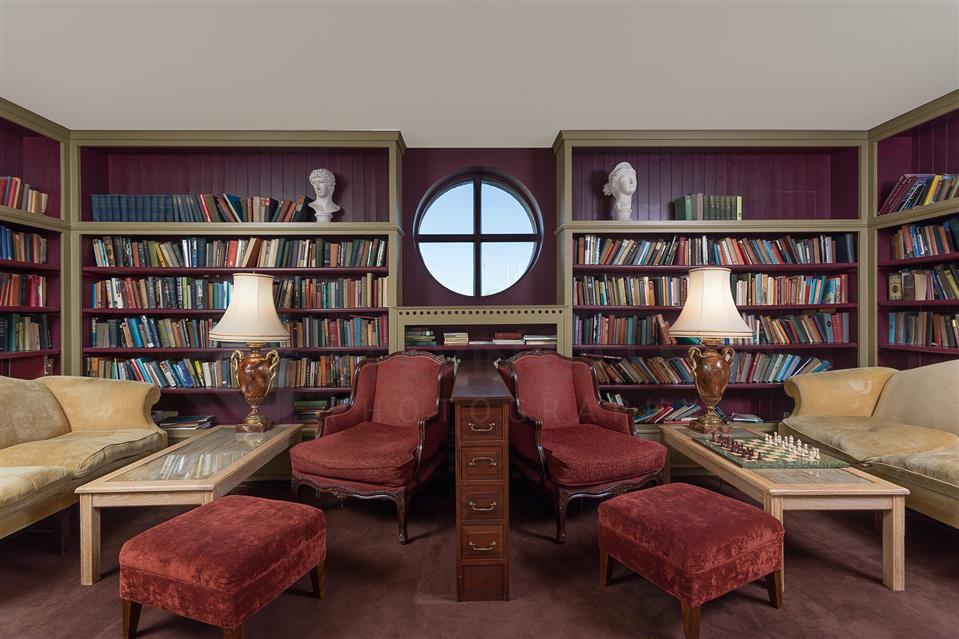Connemara Coast Hotel Library