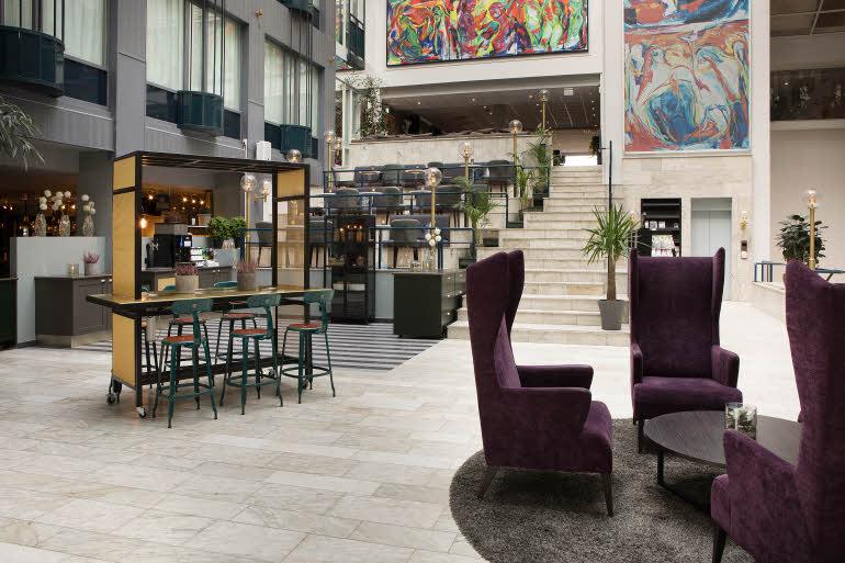 Scandic Hell Hotel Lobby