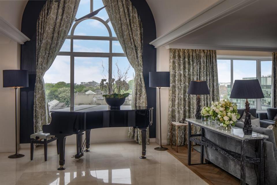 Conrad Hotel Bedroom View