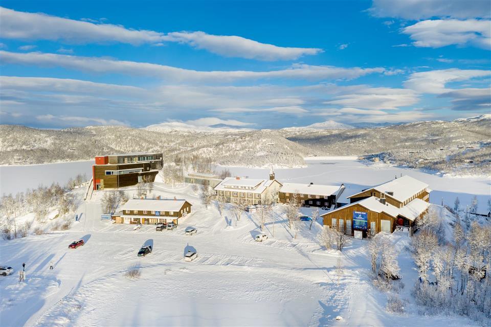 Skinnarbu Nasjonalparkhotell Vinter