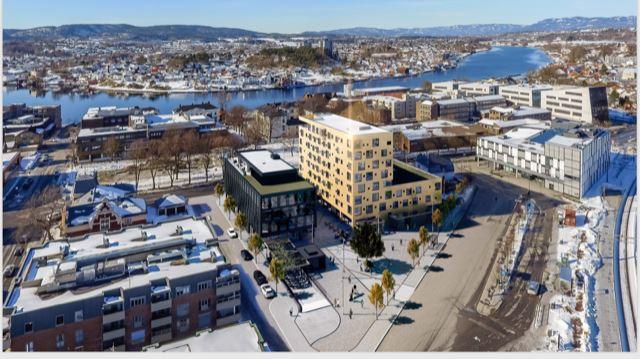Comfort Hotel Porsgrunn Byggnad