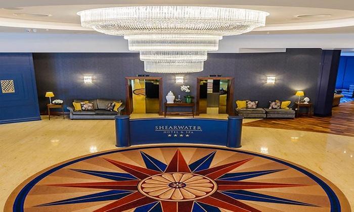 Shearwater Hotel Reception