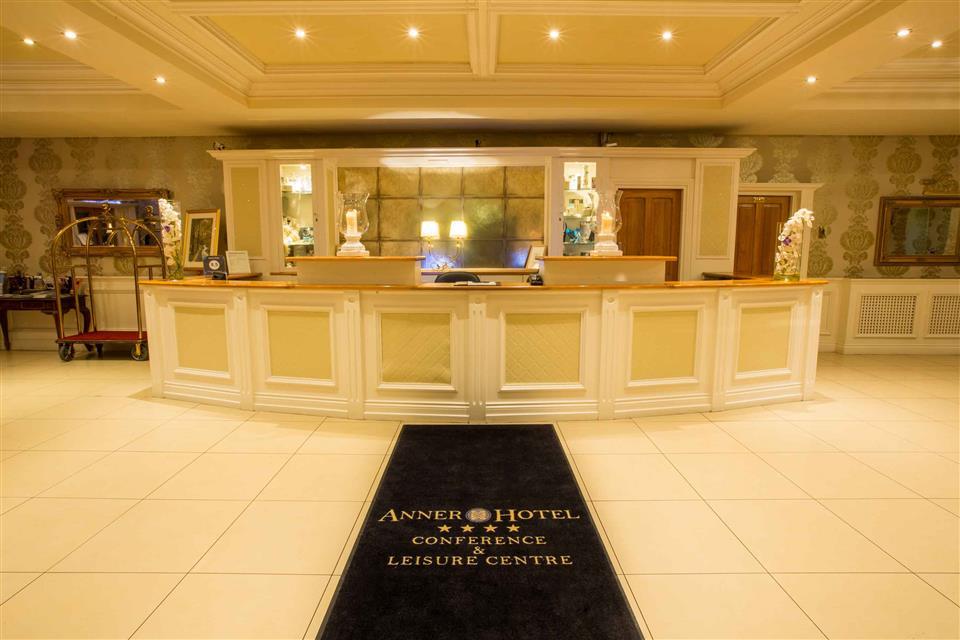 Anner Hotel & Leisure Centre Reception