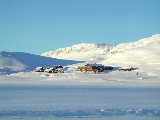 Bergsjøstølen Vinterlandskap