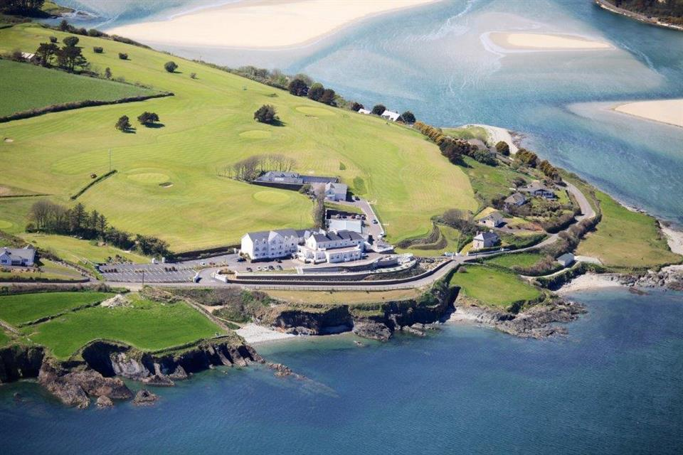 Dunmore House Hotel Ariel View