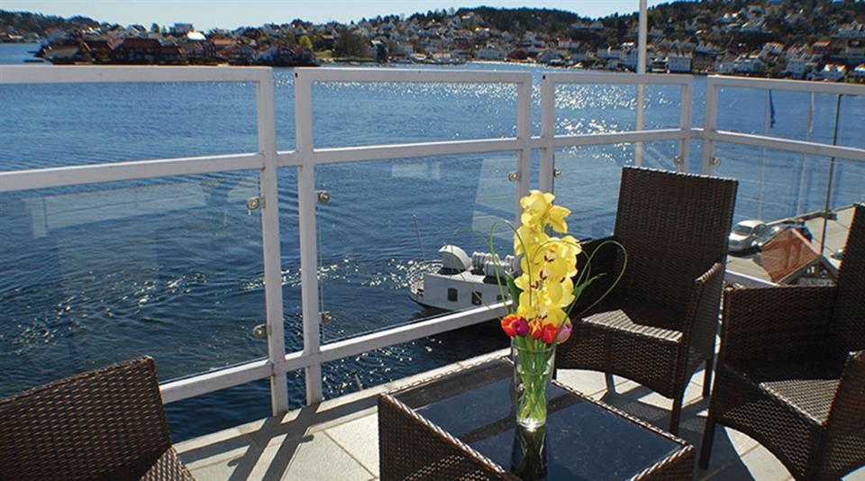 Clarion Hotel Tyholmen Terrass