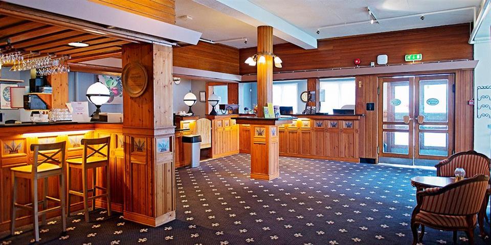 Thon Hotel Sandven Reception