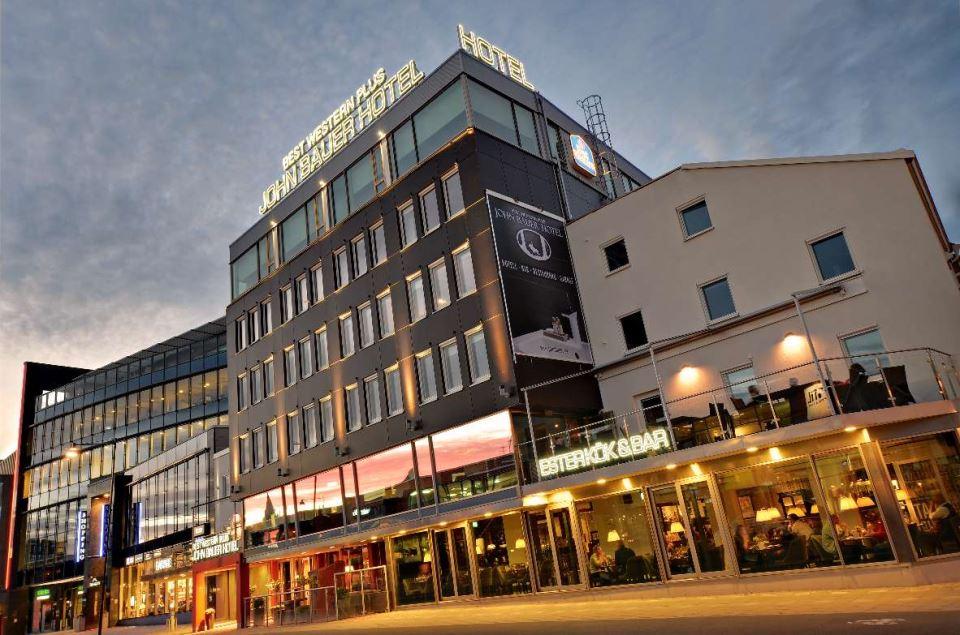 Best Western Plus John Bauer Hotel Fasad