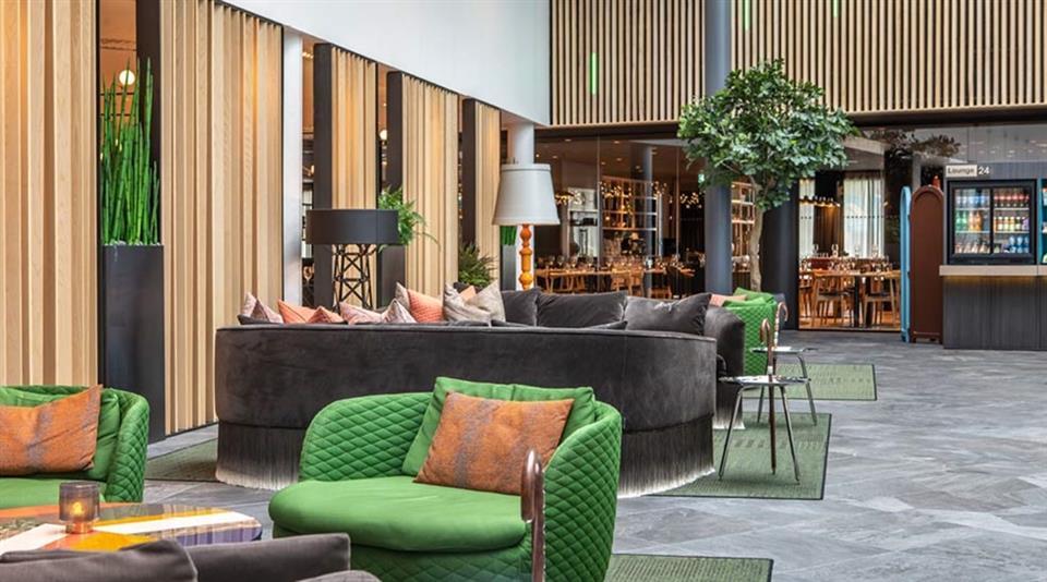 Quality Airport Hotel Gardermoen Lobby