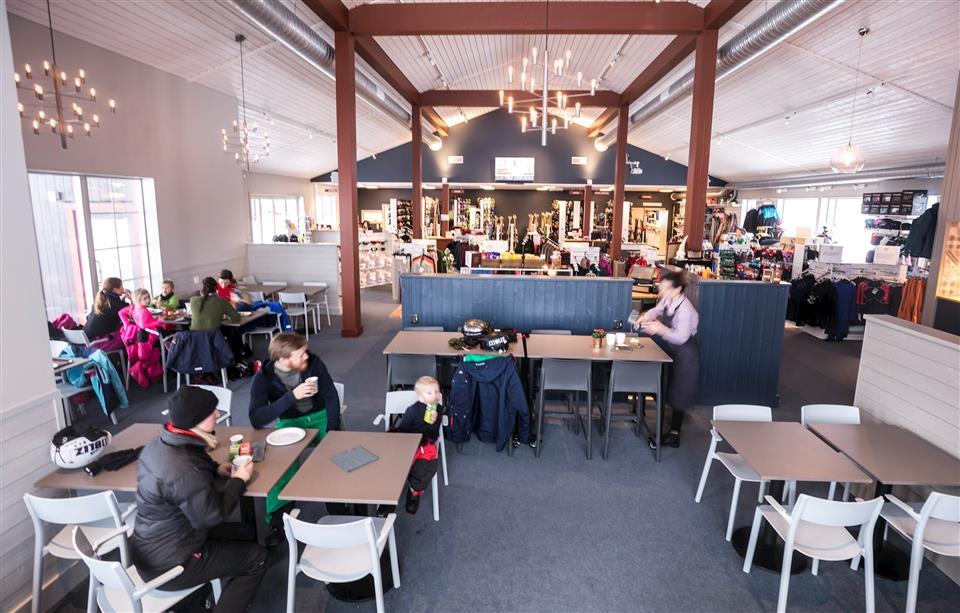 Storhogna Högfjällshotell & Spa Café