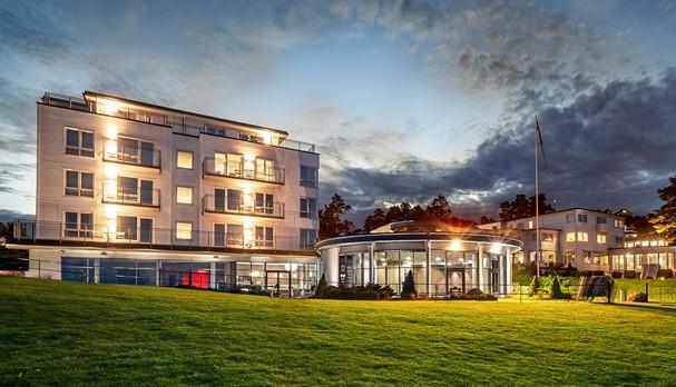 Strand Hotel Fevik Fasad
