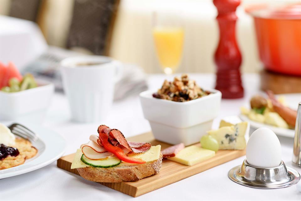 Grand Hotel Alingsås Frukost