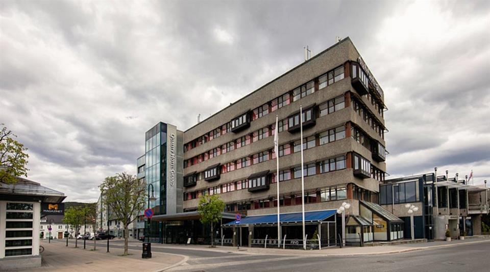 Quality Hotel Grand Kongsberg Fasad