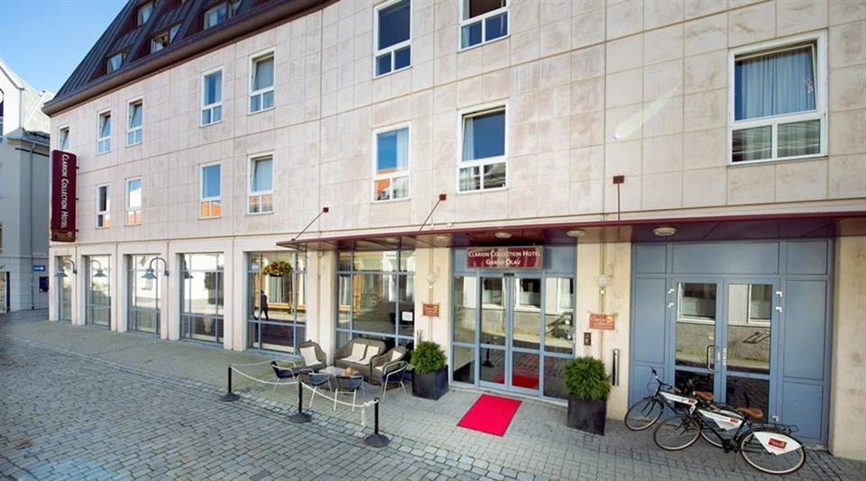 Clarion Collection Hotel Grand Olav Fasad