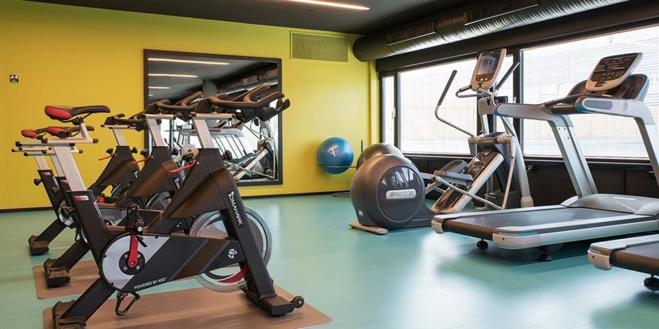 Thon Hotel Oslo Airport Gym