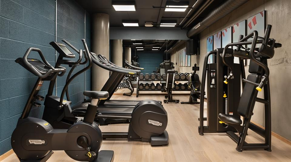 Quality Hotel River Station Gym