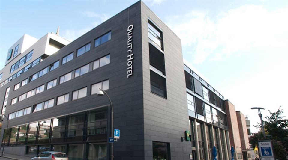 Quality Hotel Fredrikstad Facade