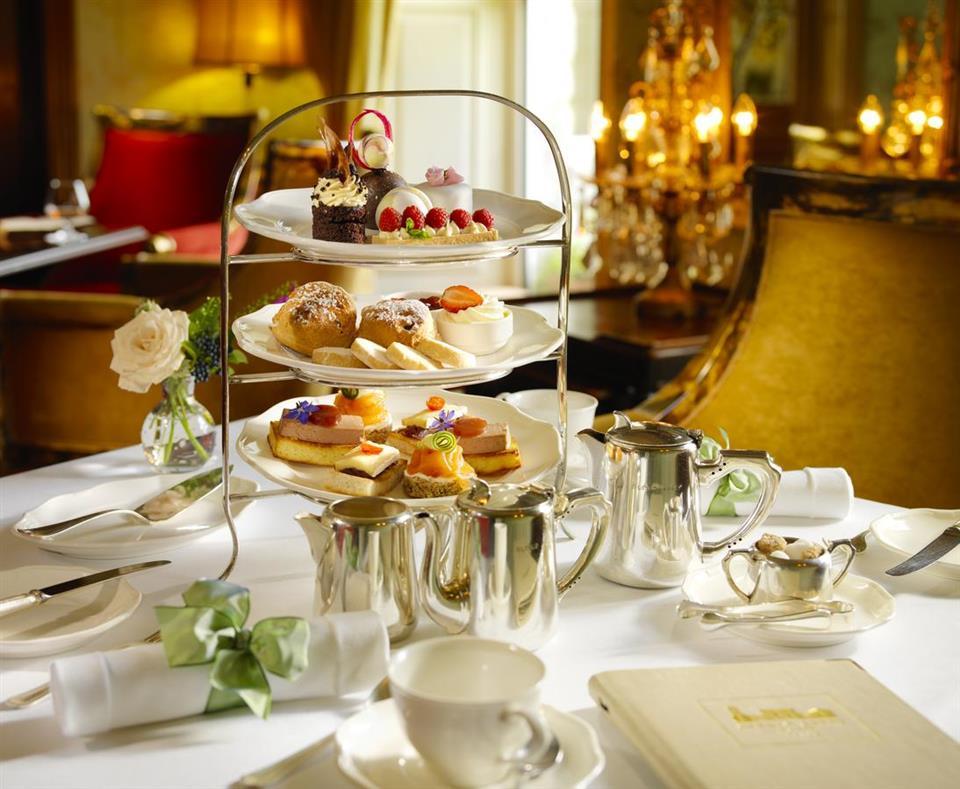 Glenlo Abbey Hotel Afternoon Tea