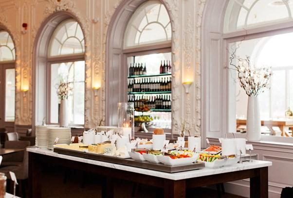 Elite Grand Hotel Gävle Frukostbuffé