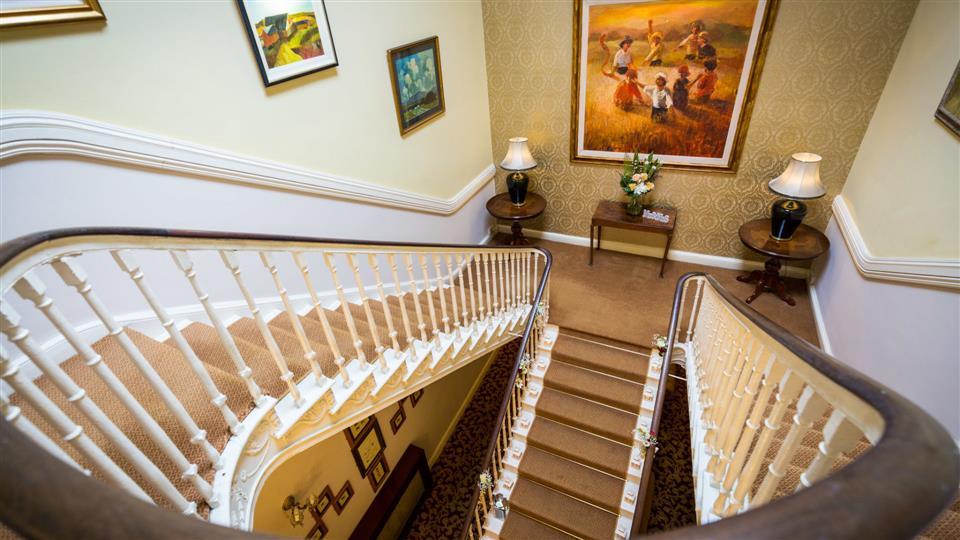 Castle Oaks House Hotel & Estate Stairs