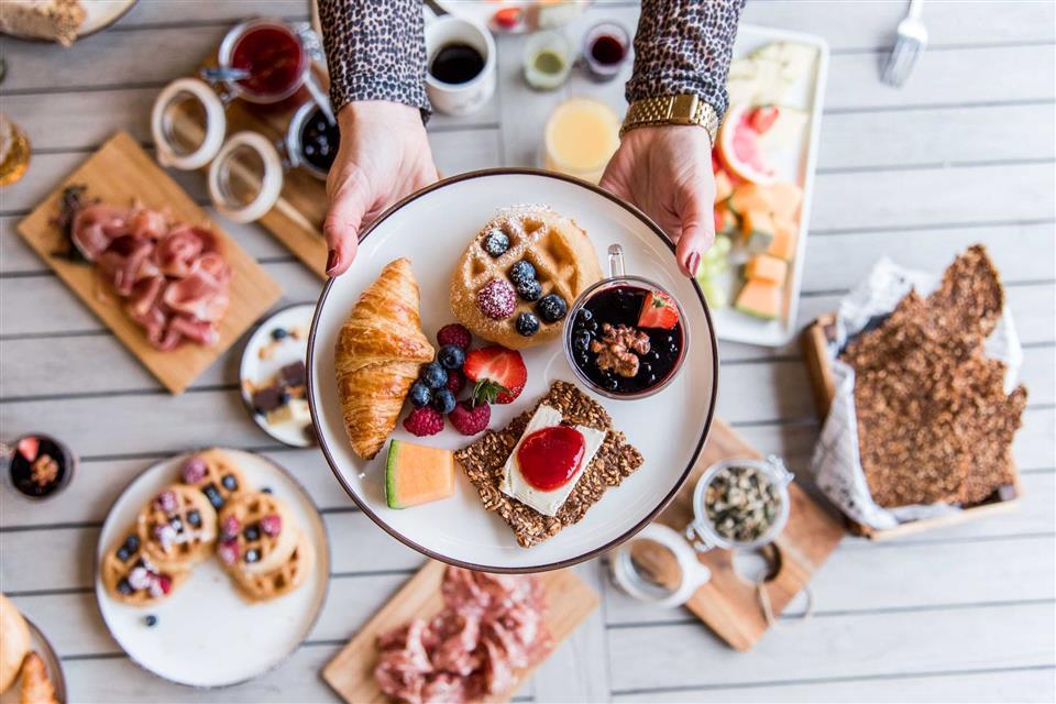 Arken Hotel And Art Garden Spa frukost