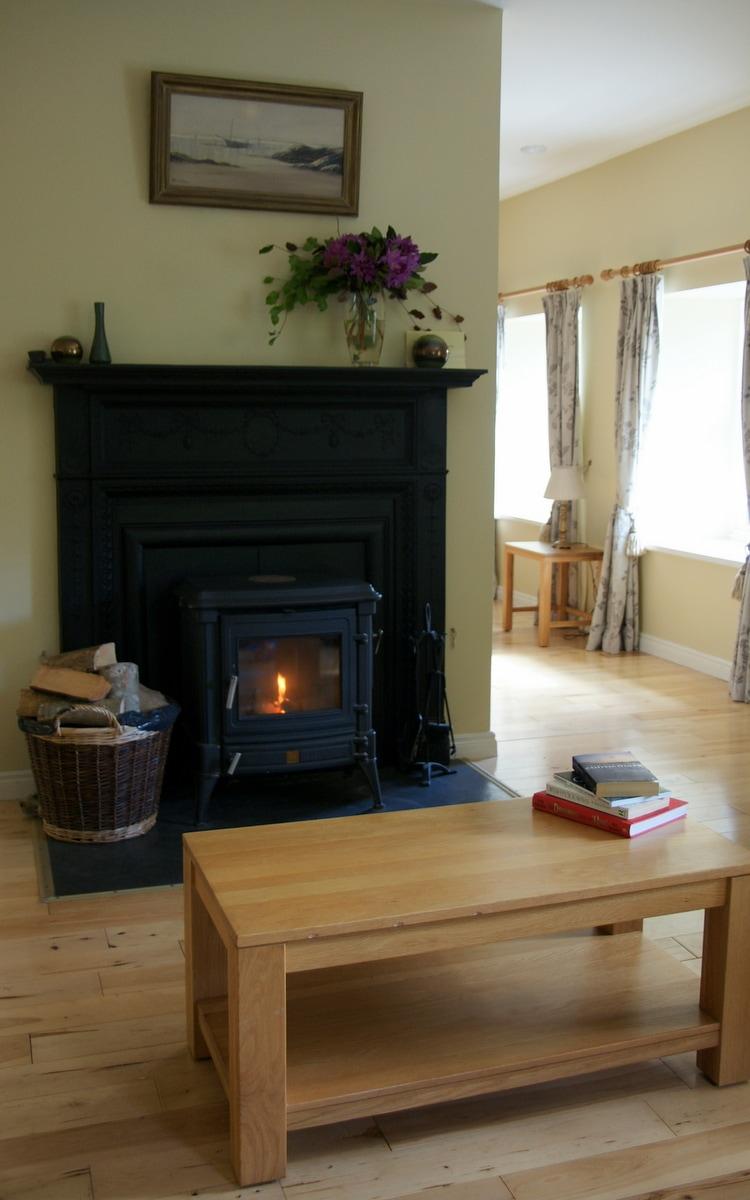 Aashelagh Cottages stove