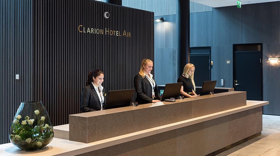 Clarion Hotel Air Reception