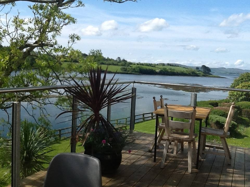 Ballylickey Bay Holiday Home Backgarden