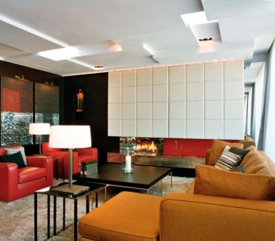Fitzwilliam HOtel lounge