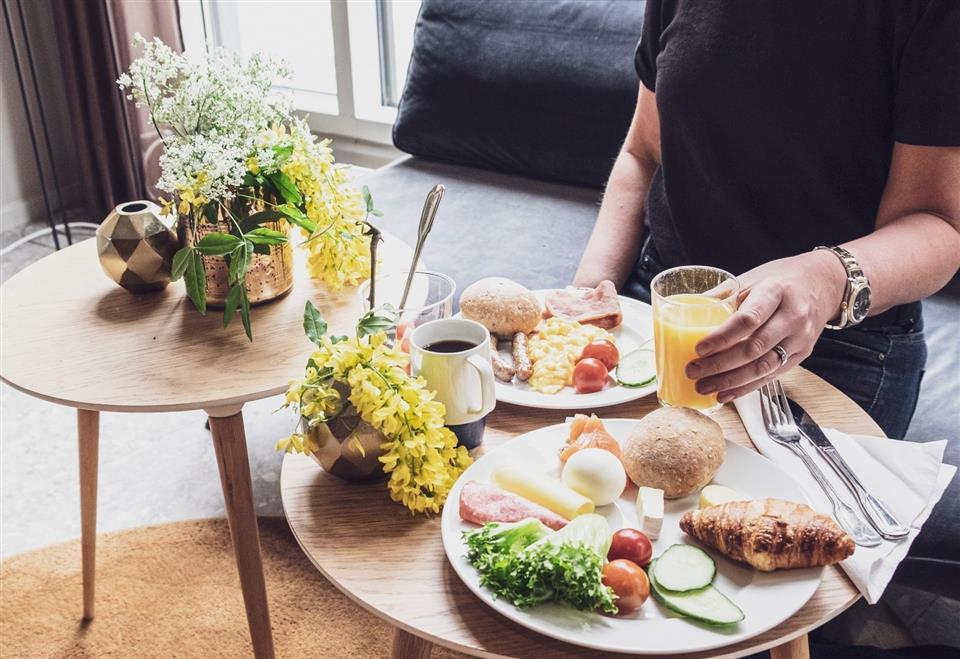 Scandic Lillehammer Hotel Frukost