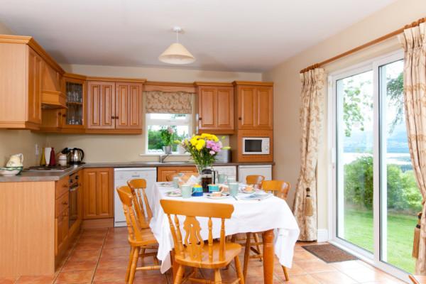 Abhainn Ri Cottages Kitchen dining