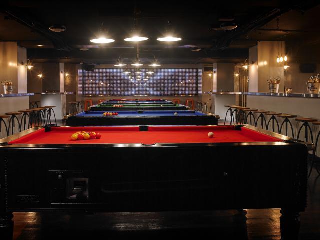 Temple Bar Hotel Pool Room