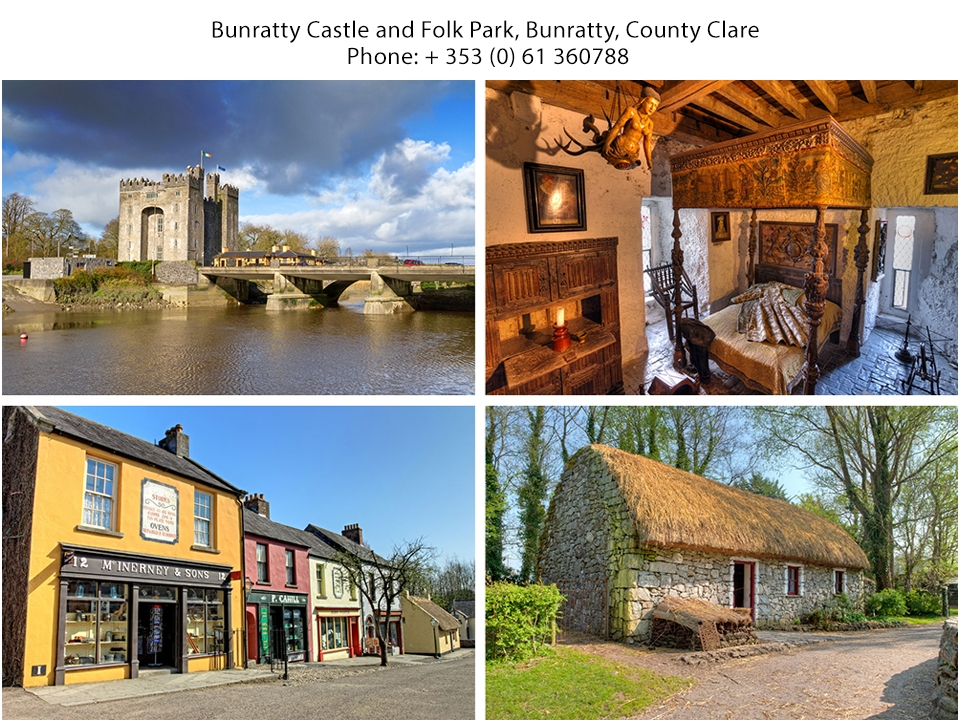 Bunratty West Holiday Homes postcard