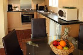 Carraroe Holiday Cottages kitchen