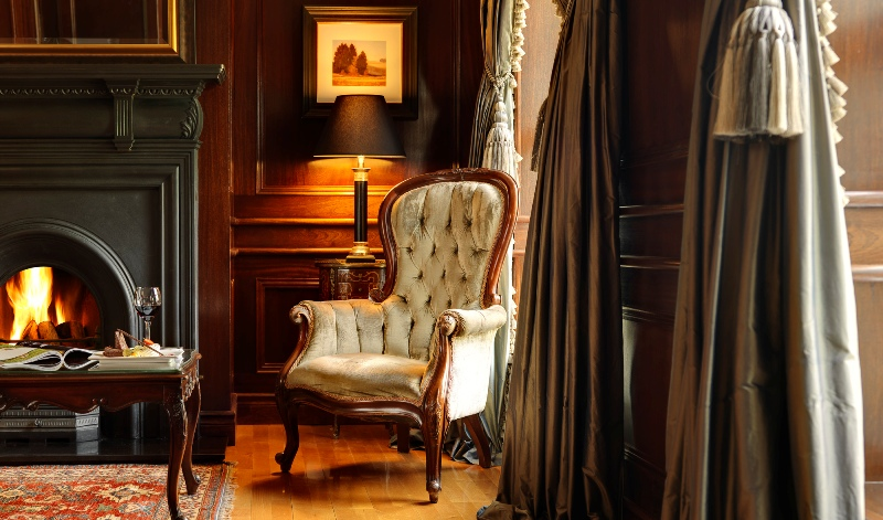 Ballygarry House Hotel Drawing Room