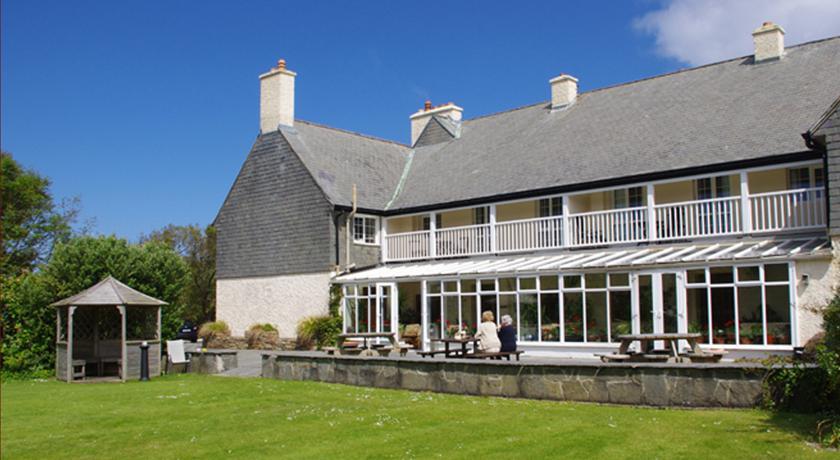 Renvyle Hotel garden