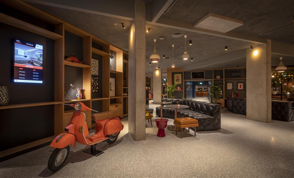 Marlin Hotel Reception Lobby