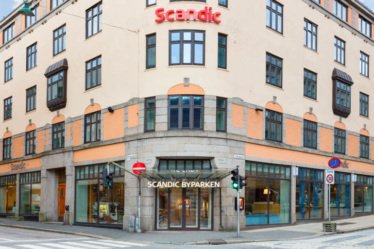Scandic Byparken Fasad