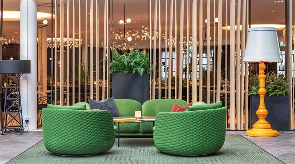 Quality Airport Hotel Gardermoen Sittområde