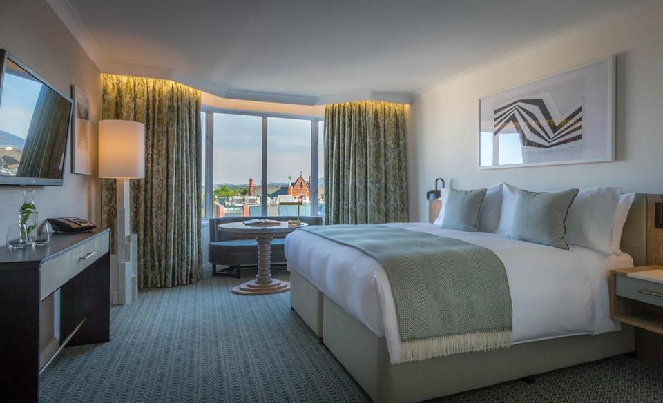 Conrad Hotel Double Bedroom
