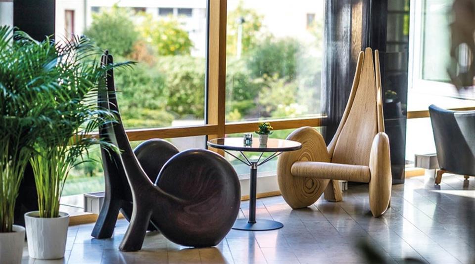 Clarion Collection Hotel Planetstaden Sittområde