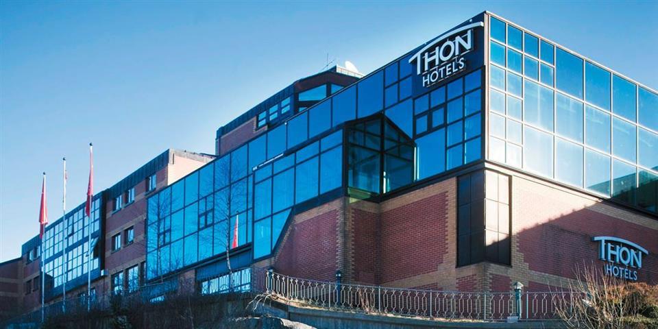 Thon Hotel Bergen Airport Fasad