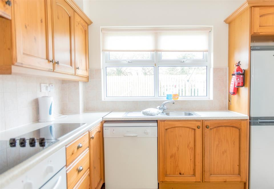 Marine View Holiday Homes Kitchen