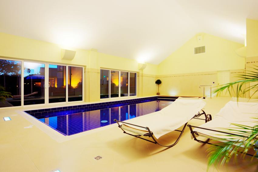 Screebe House Pool Area