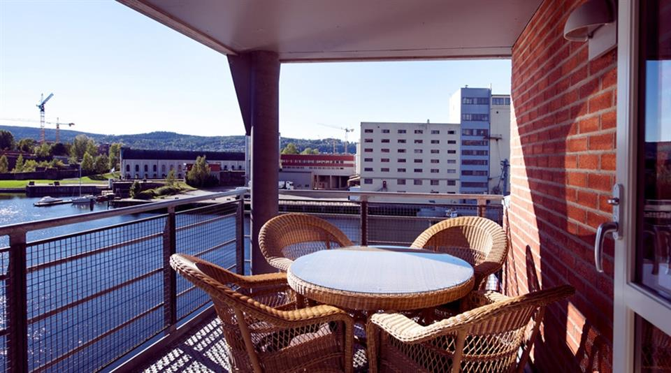 Clarion Collection Hotel Bryggeparken Balkong