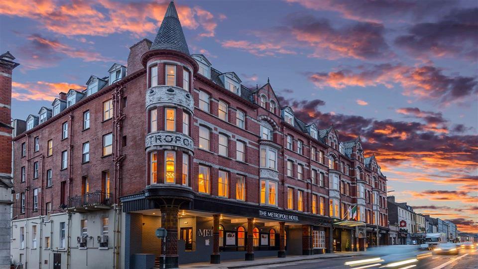 The Metropole Hotel Exterior