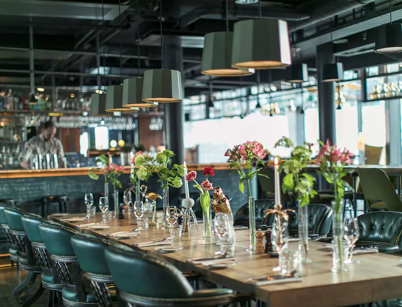 Radisson Blu Riverside Hotel Restaurang