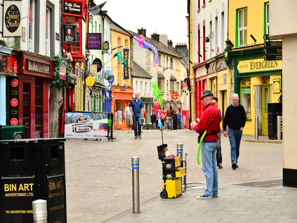 Eyre Square Hotel Shop Street