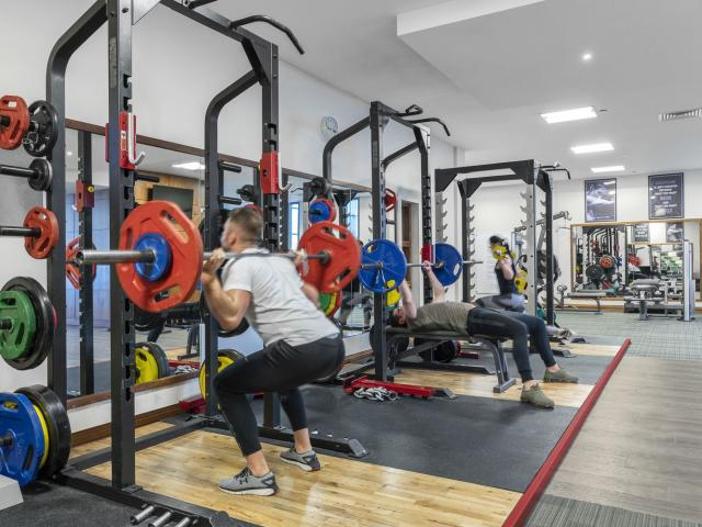 The Johnstown House Hotel Gym