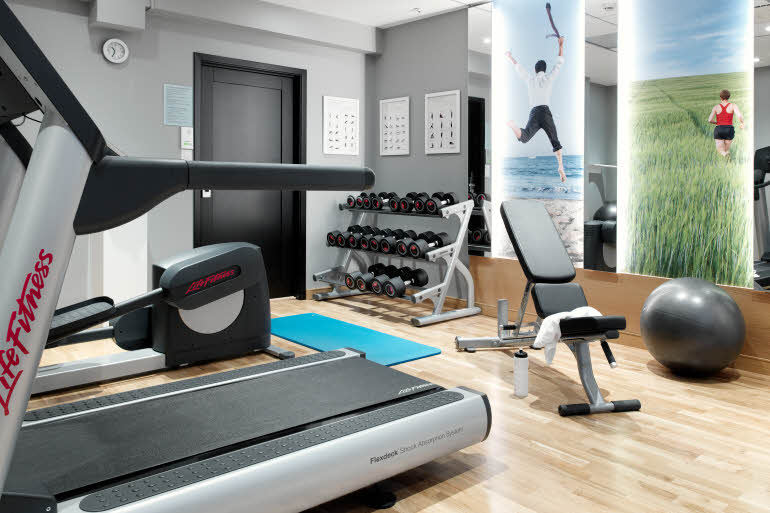 Scandic Holberg Hotel Gym